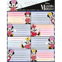 Ετικέτες Σχολικές Gim Minnie Mouse 16τμχ